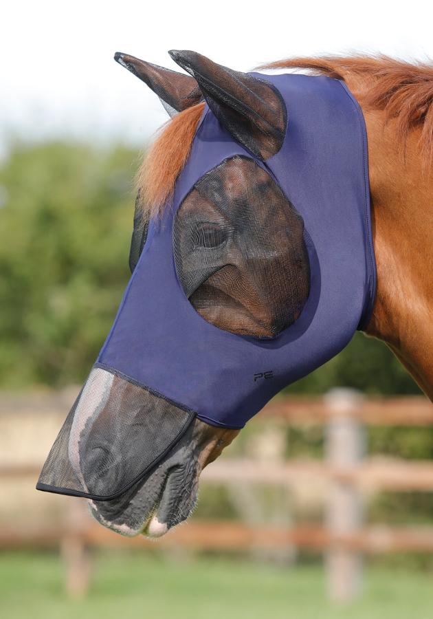Premier Equine comfort fly mask extra