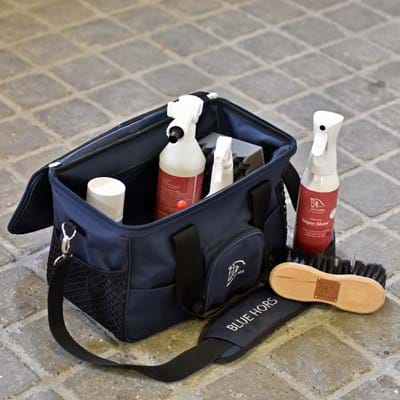 Blue Hors Groom bag