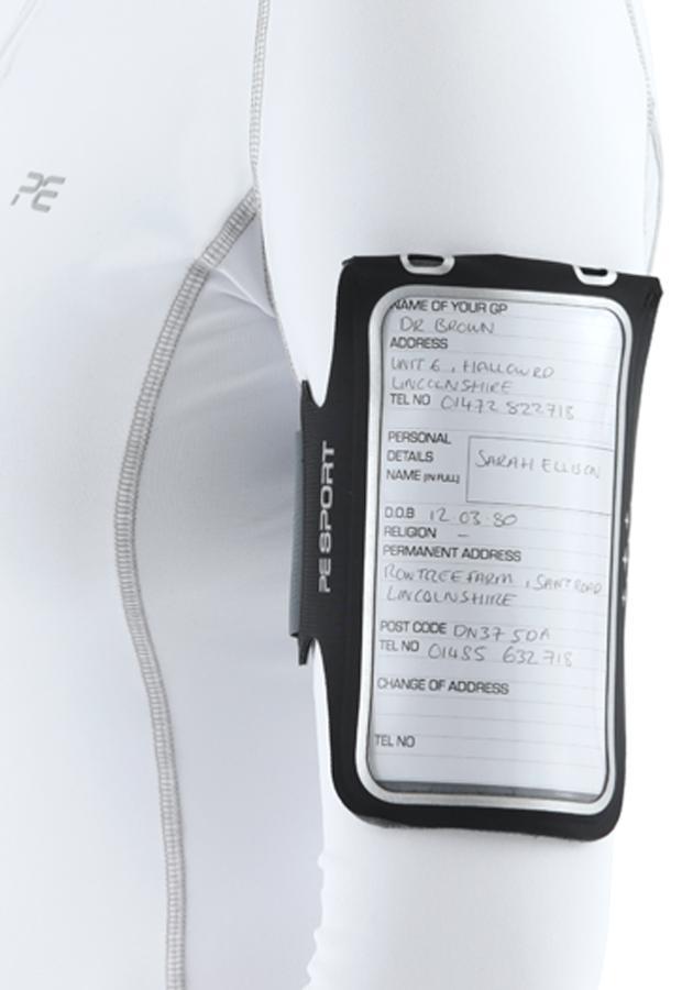 Medical card holder