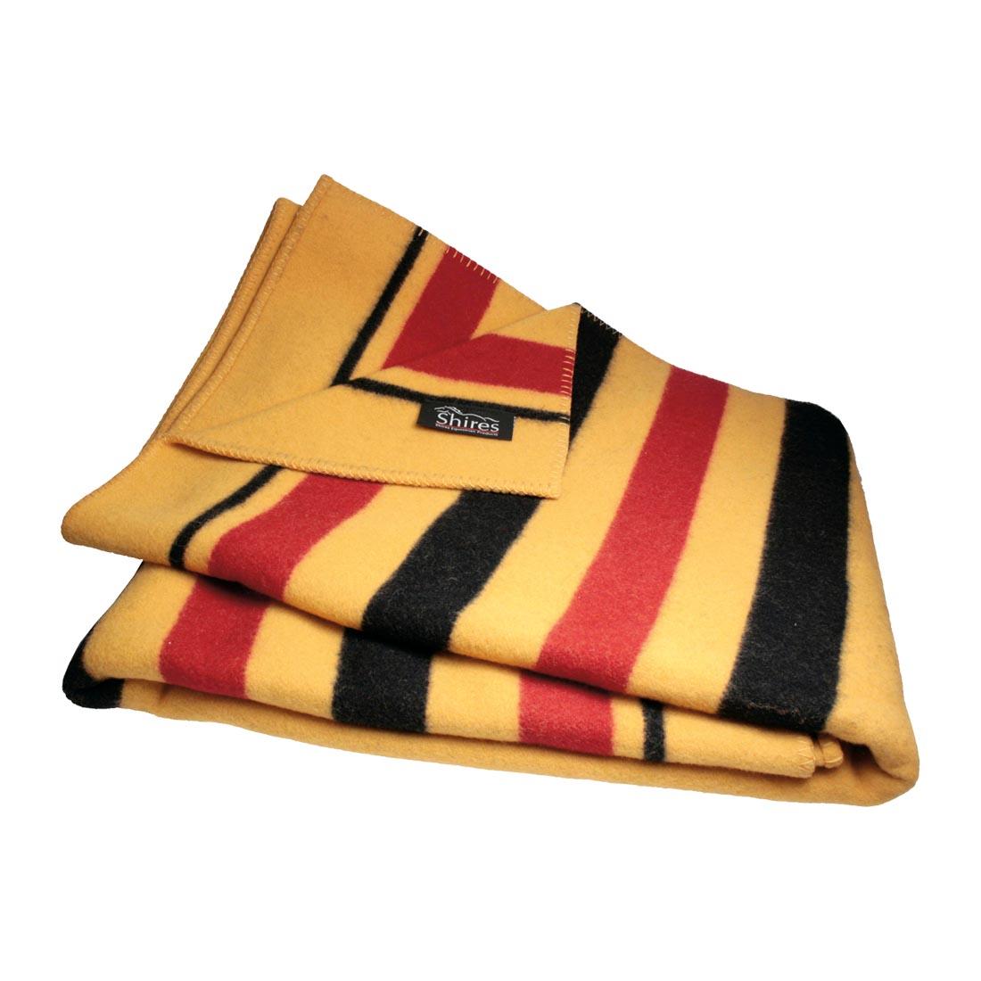 Shires Gold stripe ullteppe 180x210