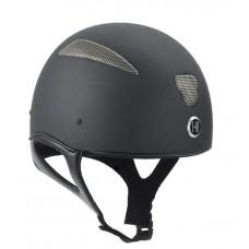 OneK matt race skull cap. inkl liner