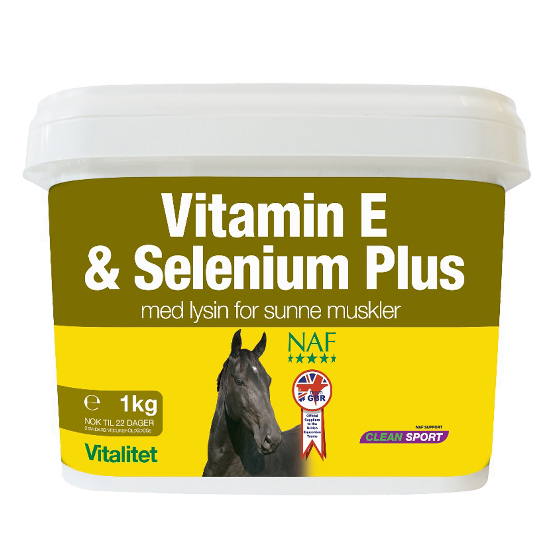 NAF Vitamin E & Selenium plus