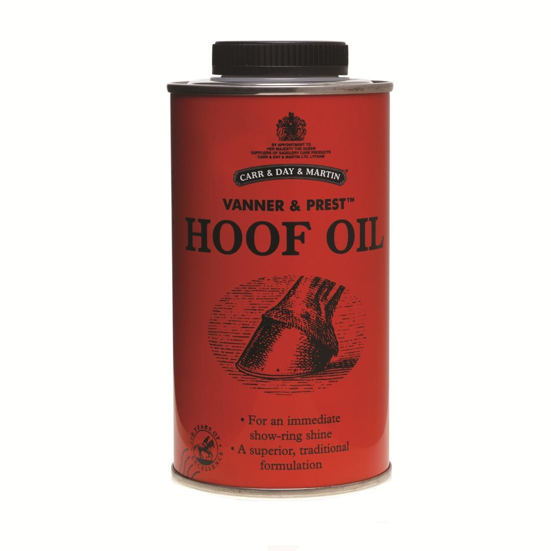 CDM Vanner Hoff oil