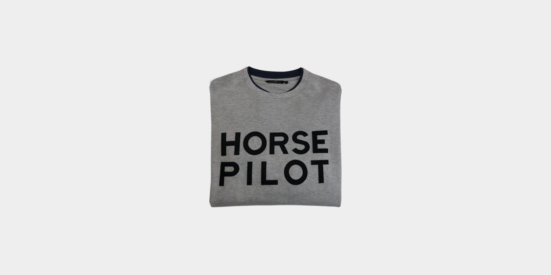 Horse Pilot College genser Herre
