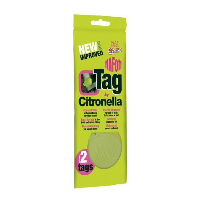 NAF Citronella tag